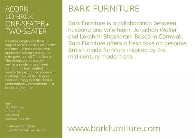 Bark Furniture Post card