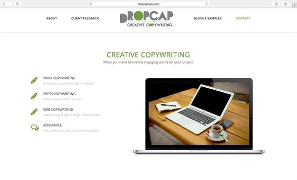 DropCap Website