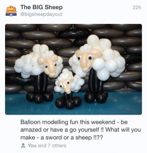 Big Sheep Tweet