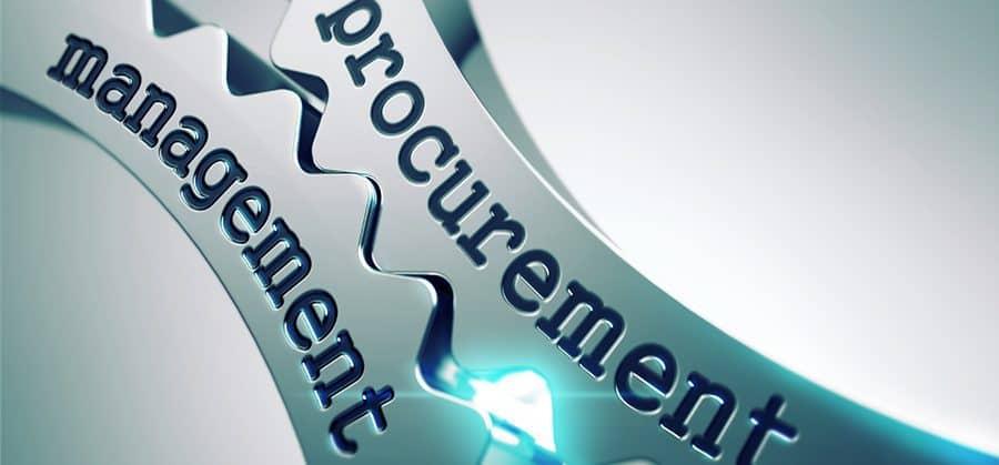 Procurement Management Concept on the Gears.