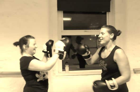 Naturally Slim Health and Fitness - boxing