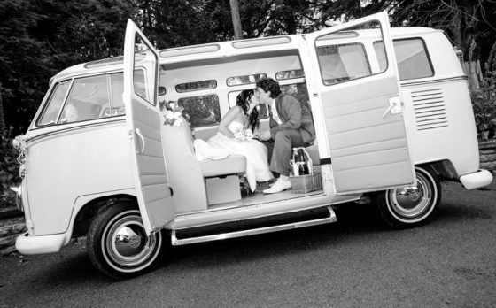 VW Camper Hire - Wedding Hire