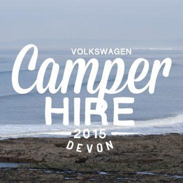 VW Camper Hire Devon South Molton