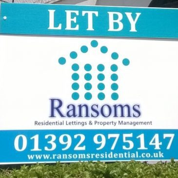 Ransoms Residential are an independent lettings and property management agency in Exeter
