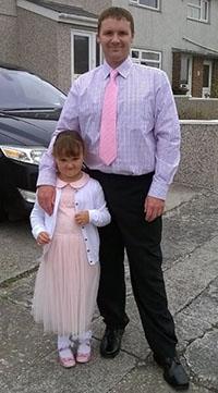 Darren and Daughter