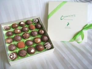 Chocolats de Caprine