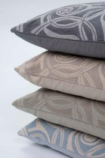 cushions crewel