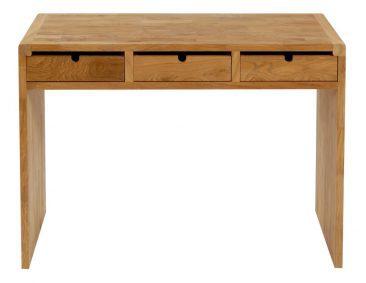 desk block dresser natural