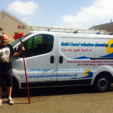 Golden coast window cleaning North Devon