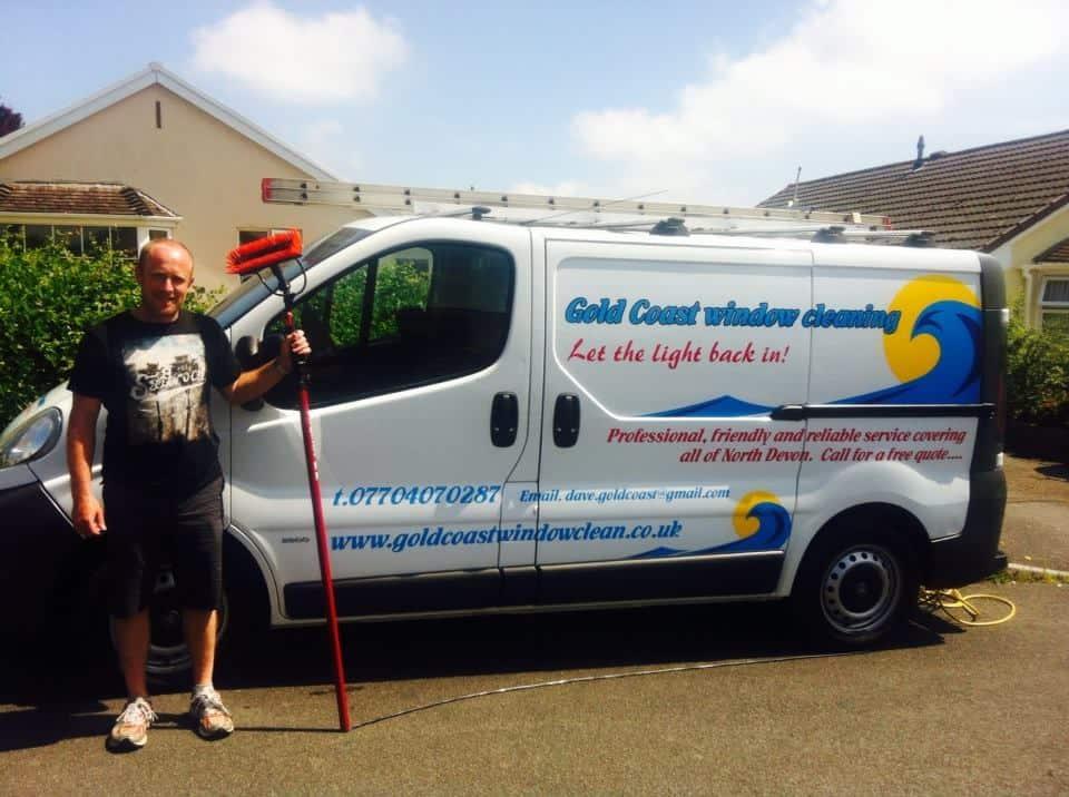 Golden coast window cleaning North Devon